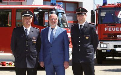 2020 – Jubiläum und Wechsel an der Spitze der Feuerwehr!