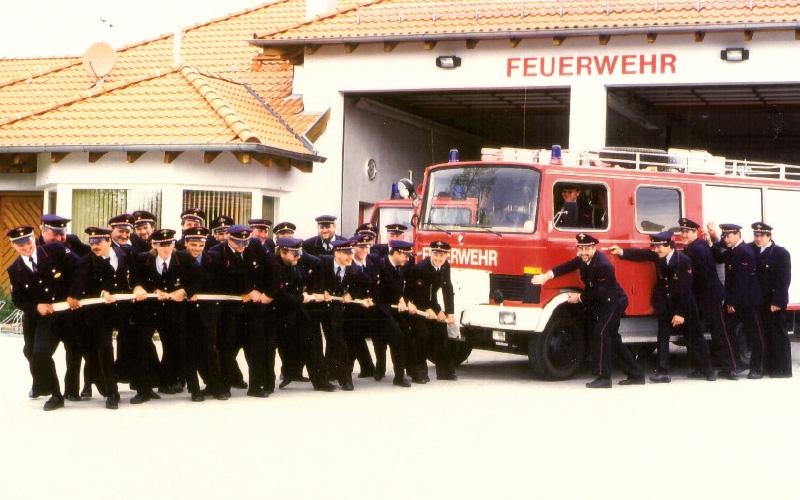 Teamwork Feuerwehr Erligheim