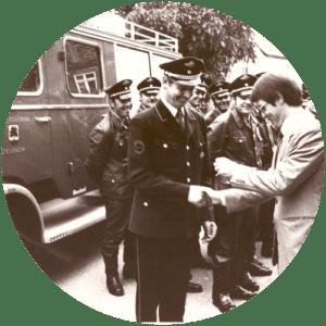 Erstes Löschgruppenfahrzeug