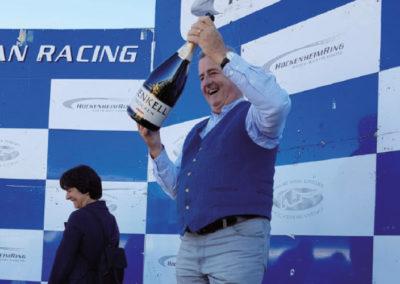 2018 - Siegesfoto mit Franz Lang  auf dem Hockenheimring