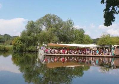 2019 - Floßfahrt auf dem Main bei Bamberg