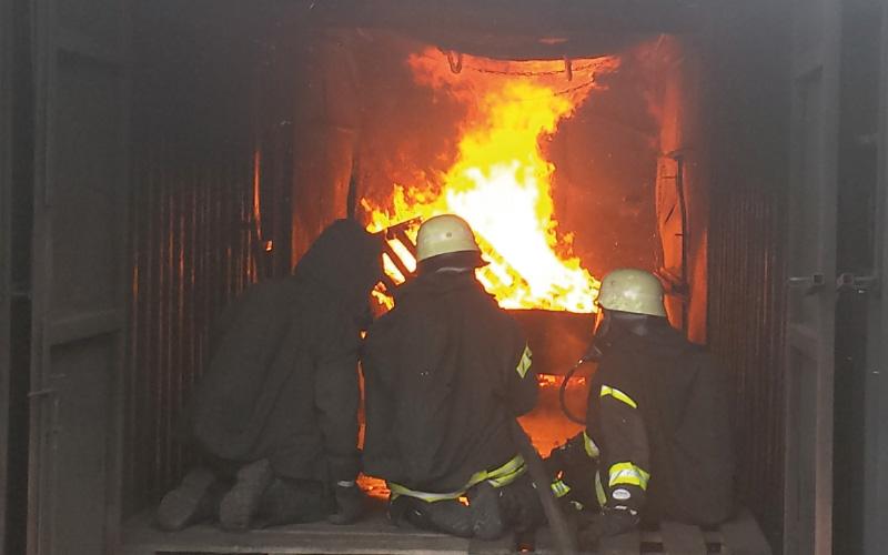 Brandübungsanlage Kühlsheim